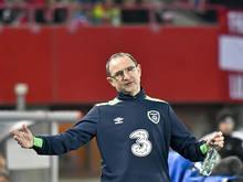Irlands Teamchef Martin O'Neill fallen einige Spieler aus