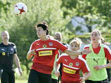 Die ÖFB-Frauen bereiten sich auf die EM in den Niederlanden vor
