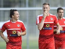 Janko wünscht dem ÖFB-Team für das Spiel gegen Uruguay alles Gute