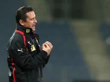 Werner Gregoritsch fordert eine Topleistung seiner Mannschaft