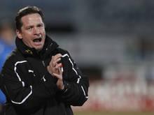 Werner Gregoritsch und sein U21-Team brauchen nun gegen Russland einen Sieg