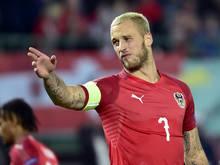 Österreichs Matchwinner gegen Nordirland: Marko Arnautović