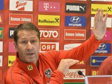 ÖFB-Teamchef Franco Foda erhofft sich neue Erkenntnisse