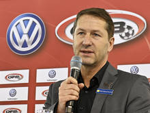 Franco Foda ist im Erfolgsfall auch Fußball-Schonkost recht