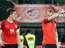 Julian Baumgartlinger und Marko Arnautović bleiben optimistisch