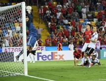Die deutschen Spieler zollten dem Gegner großen Respekt