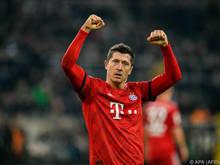 Robert Lewandowski ist in der deutschen Bundesliga in Topform