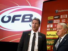Der ÖFB-Boss zeigte sich angetan
