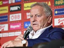ÖFB-Präsident Leo Windtner hofft auf ein EM-Ticket