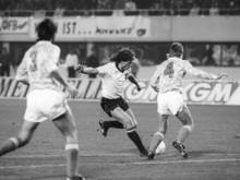 Toni Polster traf vor 30 Jahren dreimal gegen die DDR