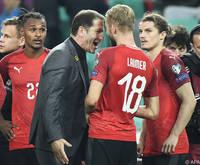 Österreichs Fußballteam weiter in den Top 30