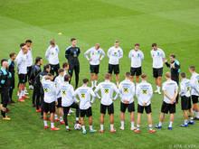 Letzte Vorbereitungen im ÖFB-Team