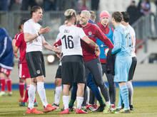 Das bisher letzte Duell endete mit einem 4:0 für Österreich