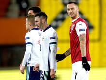 """Marko Arnautović fühlt sich """"fit"""" genug für einen Startelfeinsatz gegen Norwegen"""