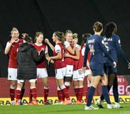 Die ÖFB-Frauen qualifizieren sich als drittbester Gruppenzweiter für die EM