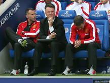 Manchester Uniteds neuer Manager Louis van Gaal agiert bislang glücklos