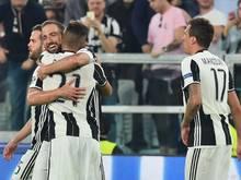 Juventus baute den Vorsprung auf acht Punkte aus