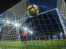 Ganz fünf Mal landete der Ball im Netz des Heimteams Brighton