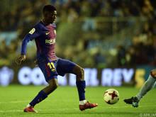 Ousmane Dembélé wird wohl ein Startelf-Comeback feiern