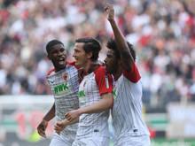 Die größte Österreicher-Delegation stellt der FC Augsburg