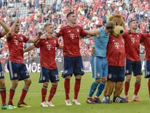 Die Bayern liegen damit 2 Punkte vor ihren Verfolgern