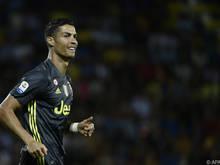 Cristiano Ronaldo soll beim Spiel gegen Bologna für die Tore sorgen