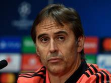 Real-Trainer Julen Lopetegui steht früh in der Kritik