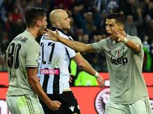 Ronaldo feierte sein Tor mit großen Gesten