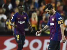 Meister Barcelona ist seit vier Meisterschaftspartien ohne Sieg