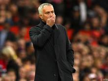 José Mourinho ist in Manchester inzwischen an Druck gewöhnt