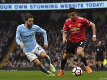 Manchester United in den letzten Jahren zweite Kraft in der Stadt