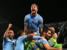 Manchester City wird seiner Favoritenrolle gerecht