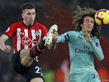 Southampton überraschte gegen Favorit Arsenal