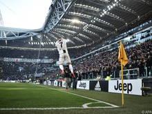 Ronaldo-Jubel bei Juve-Sieg gegen Sampdoria