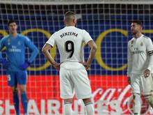 Bei den Stars von Real Madrid läuft es weiterhin nicht rund