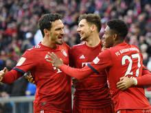 Klarer 4:1-Sieg der Bayern gegen Stuttgart