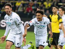 Am Ende jubelte Hoffenheim über das 3:3 in Dortmund