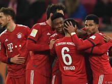 David Alaba erzielte den Siegestreffer der Bayern in Augsburg