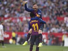 Messi erzielte drei sehenswerte Treffer