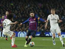 Barcelona-Star Lionel Messi traf zuletzt dreimal in Sevilla