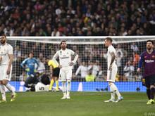Real Madrid musste gegen Barcelona zuletzt eine 0:3-Heimschlappe einstecken