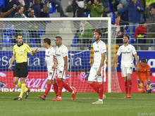 Das Spiel gegen den Tabellenletzten Huesca endete 1:2