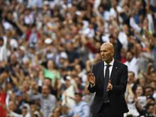 Zinedine Zidane zurück bei Real Madrid