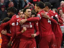 Liverpool feierte einen späten 2:1-Sieg gegen Tottenham