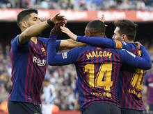 Der FC Barcelona will seinen Siegeszug fortsetzen