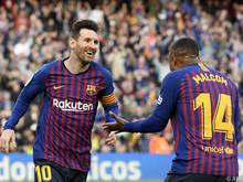 Der FC Barcelona ist seit 18 Liga-Spielen ungeschlagen