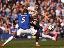 """Manchester United bei Everton chancenlos - 4:0 für die """"Toffees"""""""