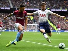 CL-Halbfinalist Tottenham verlor in der Premier League 0:1 gegen West Ham