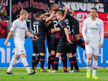 Frankfurter enttäuscht, Leverkusener jubeln