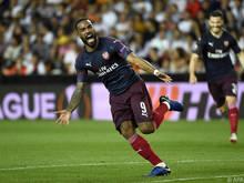 Arsenal eines von vier Teams in den Finalspielen